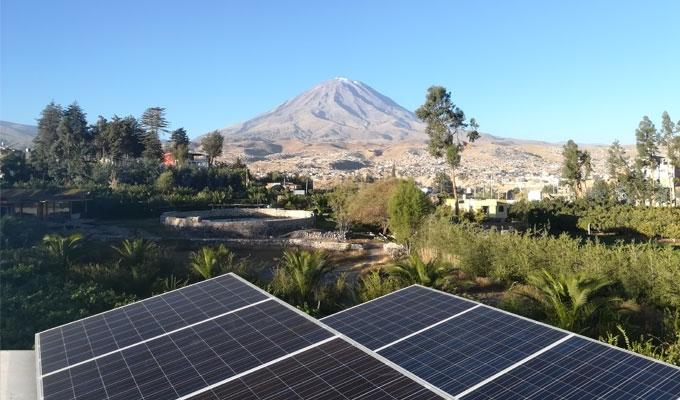La energía solar en Arequipa