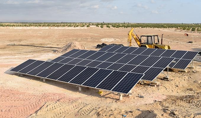 Paneles solares en Tacna para bombeo solar directo